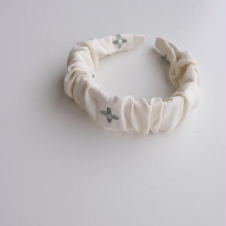 MERCIU FLOWER EMBROIDERY HAIR BAND