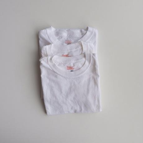 <US USED> Hanes White Plain Tee S,M
