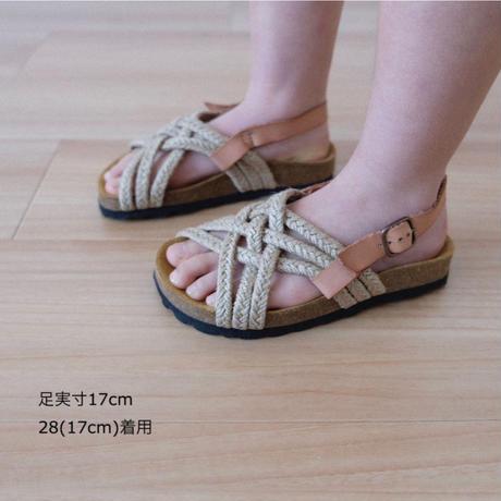 tocoto vintage Jute Bio Sandals(25(15cm)26(16cm))