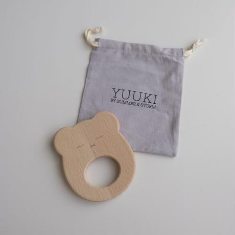 SUMMER & STORM yuuki wooden teether