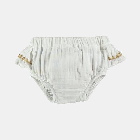 Coco Au Lait bambula embroidered culotte(全2色/6M,12M,18M,2Y)