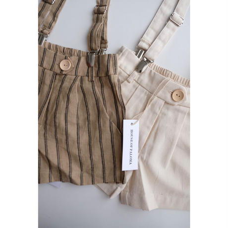 HOUSE OF PALOMA Jean Michel Short Jute Linen(2Y,3Y,4Y,5Y,6Y)