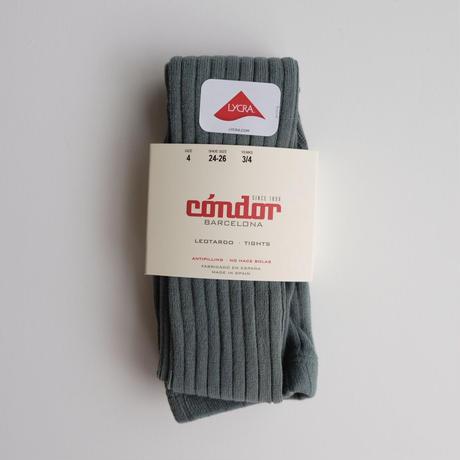 <10/24まで期間限定20%FF>Condor Rib Basic Tights(全8色/4(14.5-16cm),6(17-19.5cm),8(20.5-22.5cm))