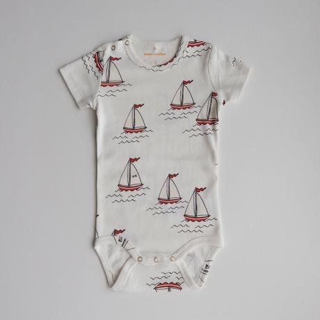 56/62ラスト1点 mini rodini Sailing boats aop ss body