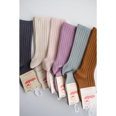 Condor Rib High Socks(全6色/0(9.5-11.5cm),2(11.5-13.5cm))