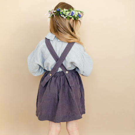 LA PETITE ALICE Linen Skirt Daisy(18-24m,2-3y)