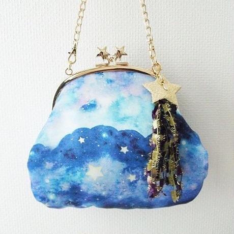【Hanako掲載商品】hoshizora★2wayポシェット流れ星のタッセル付