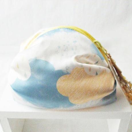 cloudポーチ☆流れ星のタッセル付
