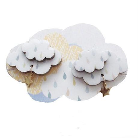 cloudイヤリングorピアス☆しずく