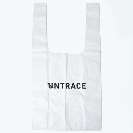 UNTRACE EASY BIG BAG (White×Navy)