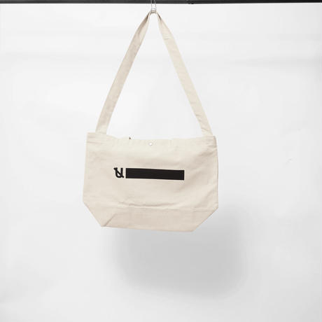 UNTRACE 2WAY TOTE  (Natural)