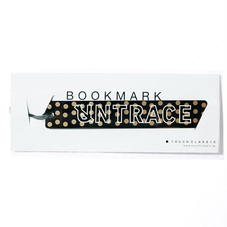 UNTRACE BOOK MARK (Black×Gold×White)