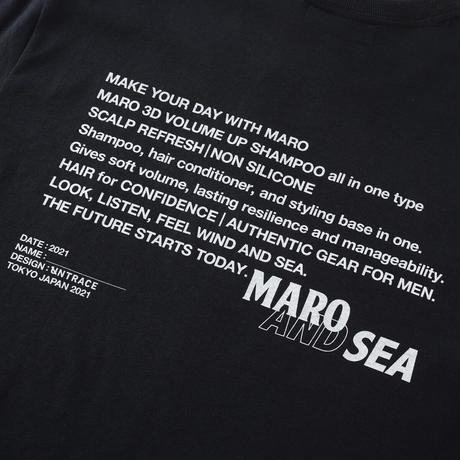 MARO × WIND AND SEA × UNTRACE S/S (Black)