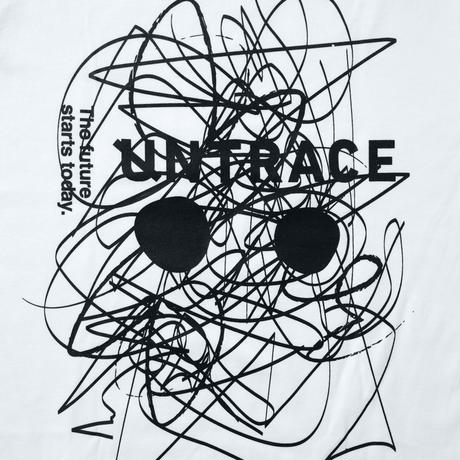 UNTRACE SKETCH.01 S/S for Kids (White×Black)
