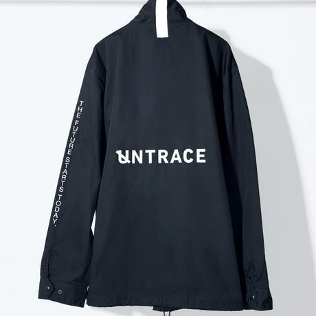 UNTRACE COACH JACKET (Black×White)
