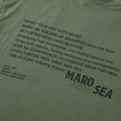 MARO × WIND AND SEA × UNTRACE S/S (Olive)