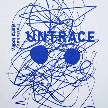 UNTRACE SKETCH.01 S/S (White×Blue)