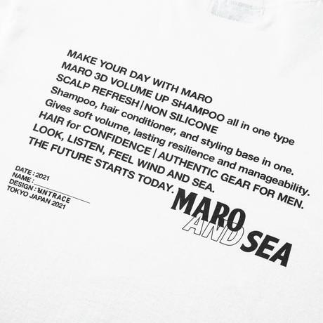MARO × WIND AND SEA × UNTRACE S/S (White)