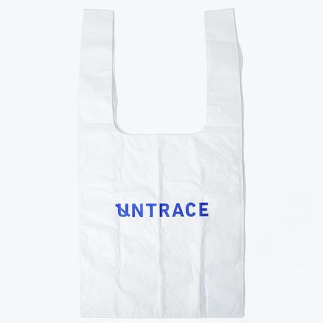 UNTRACE EASY BIG BAG (White×Blue)
