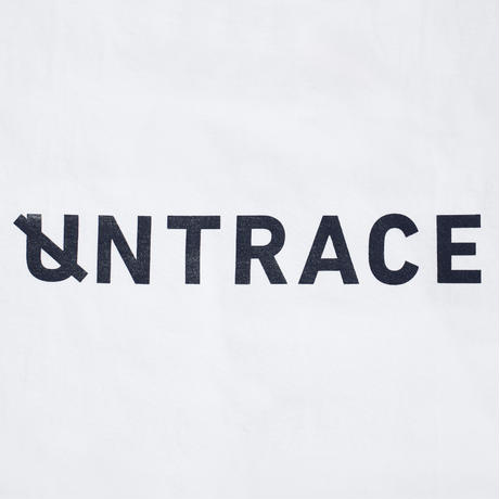 UNTRACE POCKET Tee S/S (White×DarkNavy)