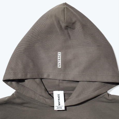 UNTRACE LOGO?? HOODIE (Charcoal×White)