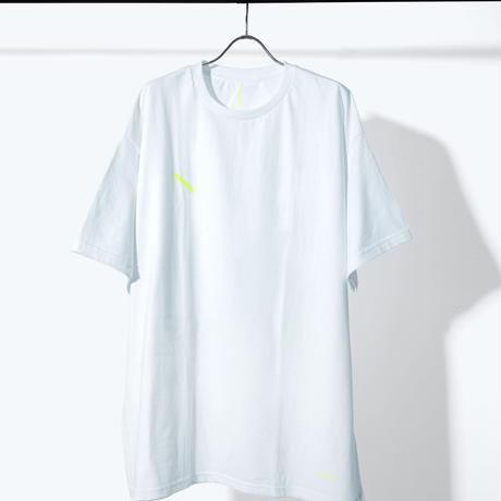 UNTRACE SLASH S/S (White×Neon Yellow)