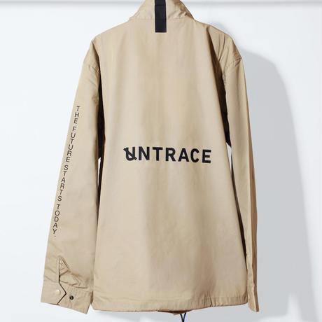 UNTRACE COACH JACKET (Beige×Black)