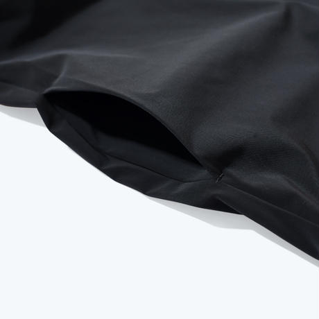 UNTRACE BOX STRETCH SMOCK L/S   (Black)