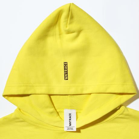 UNTRACE LOGO?? HOODIE (Yellow×Brown)
