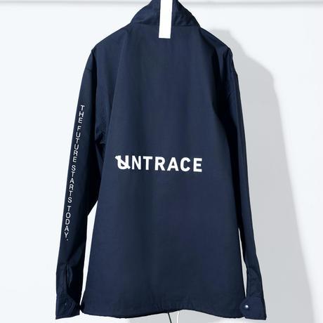 UNTRACE COACH JACKET (Navy×White)
