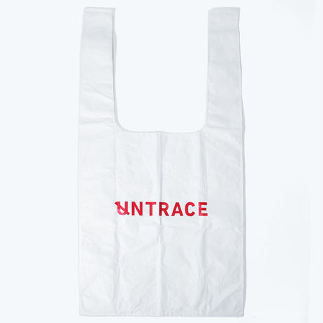 UNTRACE EASY BIG BAG (White×Red)