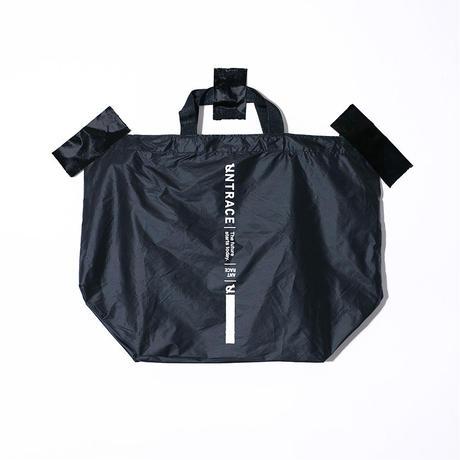 UNTRACE NYLON BAG (Black×White)