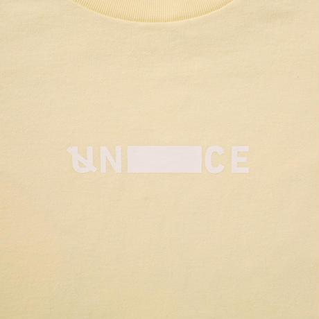 UNTRACE SKETCH.02 S/S (Custard×White)