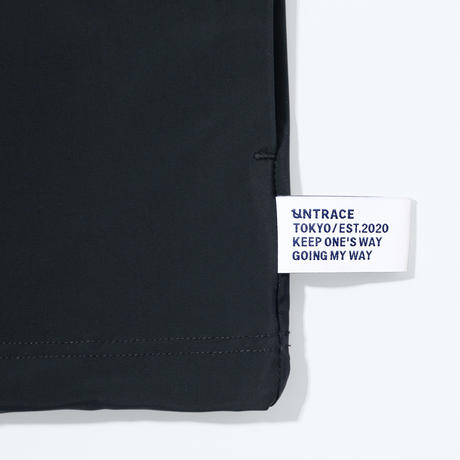 UNTRACE BOX STRETCH SMOCK S/S (Black)