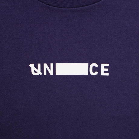 UNTRACE SKETCH.02 S/S (Navy×White)