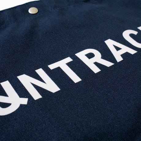 UNTRACE 2WAY TOTE  (Navy×Black×White)