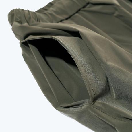 UNTRACE TAPERED STRETCH TRACK PANTS (Kharki)