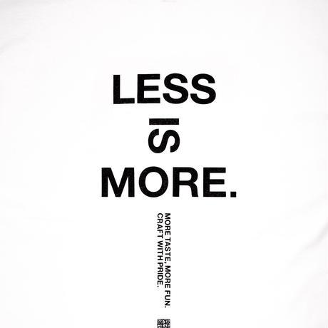 UNTRACE x 松徳硝子 LESS IS MORE L/S (White×Dark Navy)