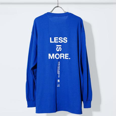 UNTRACE x 松徳硝子 LESS IS MORE L/S (Blue×White)