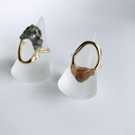 silver925 ring  (gold)