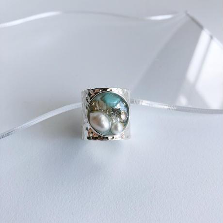 flux (silver)... blue colour