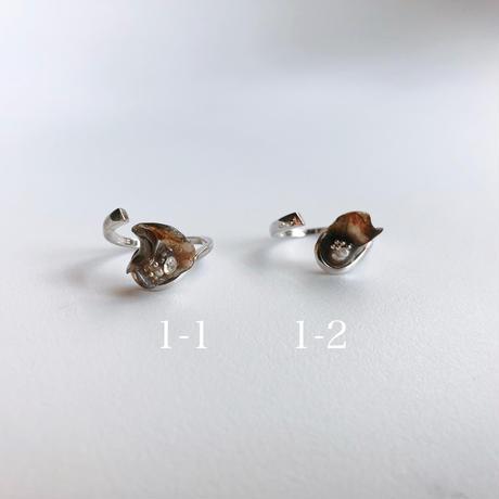silver925 ring  (asymmetry)