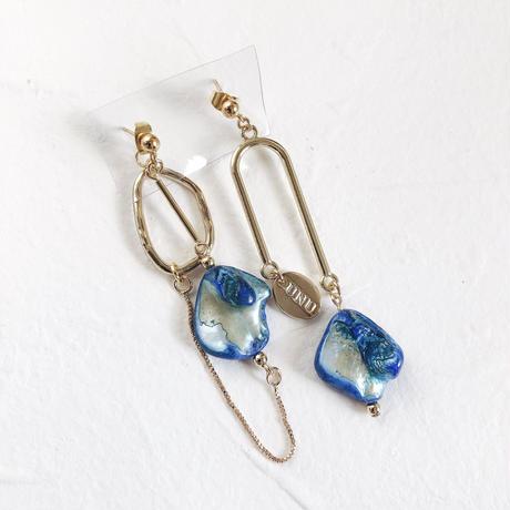 vine (turquoise blue×gold)