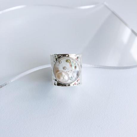 flux (silver)... white colour