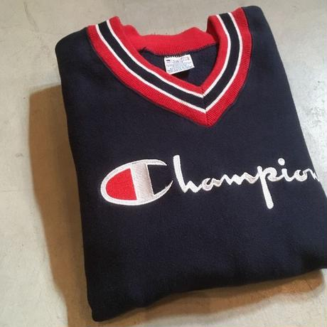 1990's Champion Reverse Weave V-neck Sweat