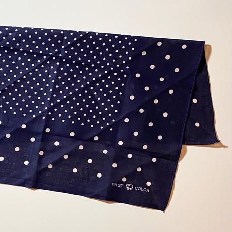 1950's Elephant Brand Dots Bandanna Deadstock