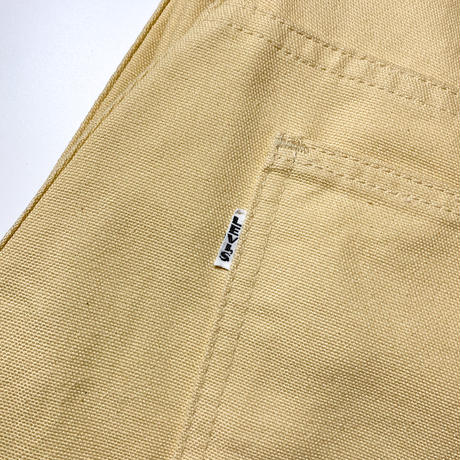 1960's Levi's 518 Big E Canvas Tapered Pants