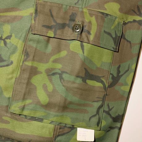 1960〜70's Civilian Leaf Camo Trousers Deadstock