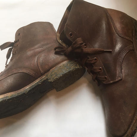 1940's US.NAVY M-43 Roughout Boots