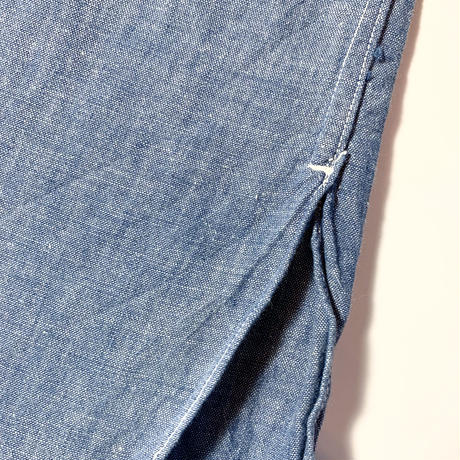 1950's〜 US.NAVY Chambray L/S Shirt